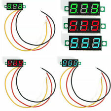 Mini DC 0-100V 3-Digital LED Diaplay Voltmeter with 3 Wires Voltage Panel Meter
