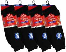 Mens Thermal Socks Mens Thermal Black Socks 3 Pair Thermal Socks Winter Socks