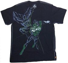 DC Comics Trunk LTD Batman & Green Lantern Black T Shirt New Official