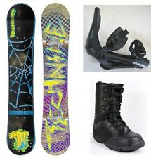 "NEW TECHNINE ""CAM ROCK"" SNOWBOARD, BINDINGS, BOOTS PACKAGE - 157cm"