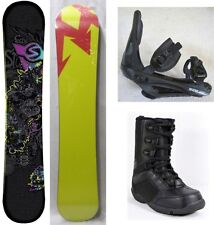 """NEW SIMS """"QUEST"""" SNOWBOARD, BINDINGS, BOOTS PACKAGE - 156cm"""