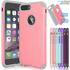 Hybrid Shockproof Rugged Rubber Protective Hard Case Cover for iPhone 7 7 Plus