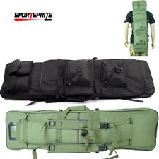 "Tactical 38"" Padded Heavy Duty Gun Rifle Carrying Bag Backpack Weapons Case"