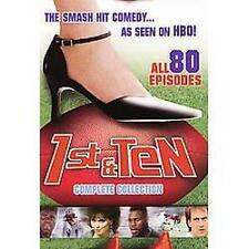 1st & Ten - The Complete Collection (DVD, 2006, 6-Disc Set NEW SEALED DVD
