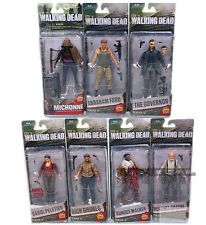 """McFarlane Toys The Walking Dead SERIES 5/6 TV 6"""" COMPLETE of 7 Action Figures"""