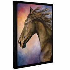 ArtWall Seer by Marina Petro Framed Painting Print on Wrapped Canvas