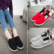 Fashion Women Sport loafer Canvas Comfort Flats Slip On Sneakers Casual Shoes