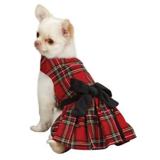 East Side Collection HOLIDAY TARTAN DRESS Dog Pet CLEARANCE LIMITED SIZES