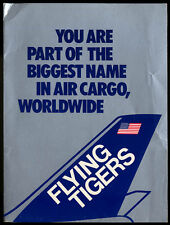 Flying Tigers Airlines Biggest Name in Air Cargo airline portfolio 1970s