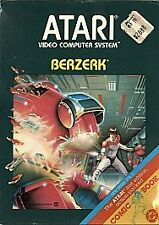 Berzerk (Atari 2600, 1982) GAME CARTRIDGE ONLY