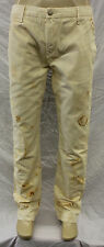 "NWT MEN'S EARNEST SEWN ""KYRRE"" SLIM TAPER CHINO PANTS KHAKI RUST SZ:29-38 $175"