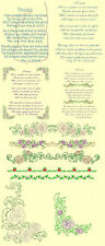 Threads Poem Machine Embroidery Designs CD-Anemone Embroidery Designs