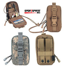 Cordura Tactical Molle Belt Cellphone Pouch Bag Cover Case for IPhone7 6S 6Plus