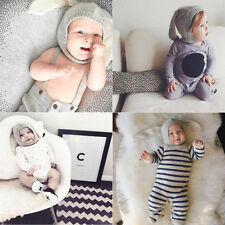Fashion Lovely Bunny Ear Hat Toddler Baby Kids Crochet Earflap Beanie Hat Cap