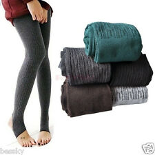 Fshion Winter Warm Women Lady Cotton Skinny Slim Stretch Pants Thick Tights