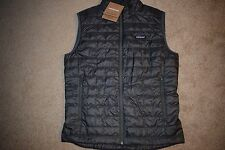 Patagonia Men's Nano Puff Vest 84242 Size Medium (Forge Grey) NWT