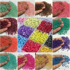 Wholesale 500/3000Pcs Czech Glass Seed Spacer beads Jewelry Making DIY 4mm