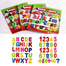 Teaching Magnetic Capital/Lower-case Letters&Numbers Fridge Magnet Alphabet New
