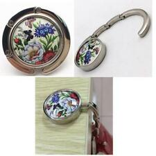 Folding Handbag Purse Bag Table Support Hook Hanger Butterfly/Dragonfly/Peacock
