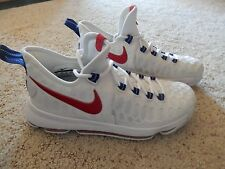 Nike KD9 Mens Authentic Basketball Shoes, Size 8.5, Kevin Durant