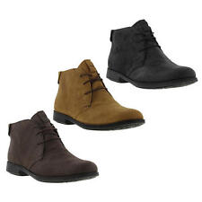 Camper 1913 Mil Mens Brown Black Leather Chukka Ankle Boots Size 8-12