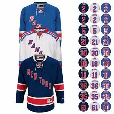 2016-17 New York Rangers REEBOK NHL Premier Player Jersey Collection Men's