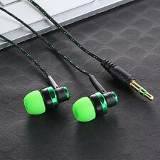 New Stereo In-Ear Earphone Headphone Headset Earbuds 3.5mm For iPhone Samsung Q