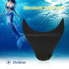 Mermaid Swim Fin Diving Monofin Swimming Foot Flipper for Adult Children B8R1