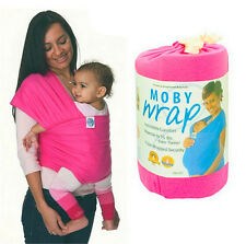 Real Mo-by Wrap Sling -Stretchy Hipseat Baby Sling Babycare Infant Baby Carrier