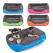 Pet Dog Cat Beds Cushion House Small Dog Soft Warm Kennel Cat Mat Blanket In US