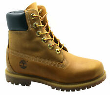 Timberland AF Full Leather 6 Inch Premium Womens Boots Lace Wheat 8552B T2