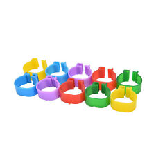 100 pcs Chicken Leg Bands Chicken Poultry Rings Pigeon Bird Ring Carry tools tb