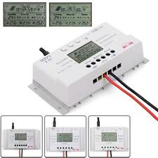 Solar Panel Regulator LCD 10/20/30/40A 12V/24V MPPT Charge Controller 3 Timer@SP