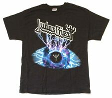 Judas Priest Electric Eye Symbol Black T Shirt New Official 2004 NOS