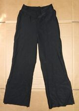 NWOT Main Street  V-Front Black Jazz Pants Poly Spandex Ladies