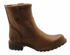 Timberland Stoddard Ankle Waterproof Womens Boots Slip On Leather A129J U13