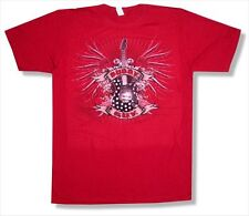 Buddy Guy Gothic Guitar Image Tour 2010 NY-MI Red T Shirt New Official Blues