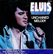 ELVIS PRESLEY Unchained melody French 45 1978 Hear