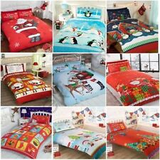 CHRISTMAS DUVET COVERS VARIOUS DESIGNS AVAILABLE IN SINGLE & DOUBLE KIDS BEDDING