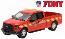 Greenlight Collectibles 29833 FDNY - 2015 Ford F-150 Pickup Official Fire