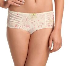 FANTASIE ANNABELLE SHORT BRIEF/KNICKERS SIZE XS/8-10 2846 IVORY PINK GREEN NEW