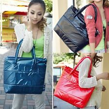 Korea Women Girl Lovely Space Bale Winter Cotton Totes Lady Shoulder Bag Handbag