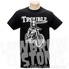 Lowbrow Customs Legacy Collection - Trouble T-Shirt