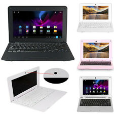 """Android 10"""" Netbook WiFi Dual Core Laptop Camera Notebook Keyboard HDMI VIA8880"""