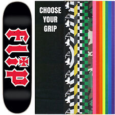 "FLIP Skateboard Deck HKD BLACK 7.75"" with GRIPTAPE"