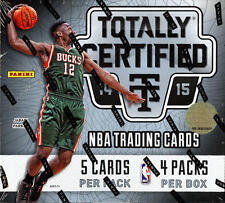 2014-15 Panini Totally Certified NBA  - Finish Your Set - WE COMBINE S/H