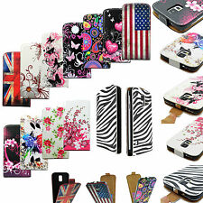 Magnetic Closure Vertical Flip Leather Case Cover For Samsung Galaxy S5 SV i9600