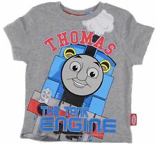 Boys Thomas The Tank Engine T-Shirt  Short Sleeved Top Summer Top 12-18M to 4-5Y