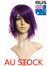 Women's Girls Short Straight Hair Wigs Cosplay Party Carnival Halloween Hair Wig