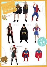 2017 New Party Fancy Dress Costume SUPERMAN BATMAN BATGIRL SUPERGIRL SPIDERGIRL